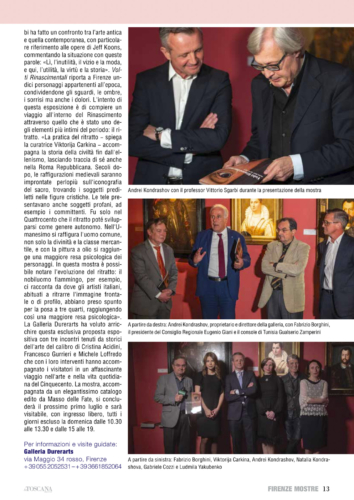 'La TOSCANA Nuova'
