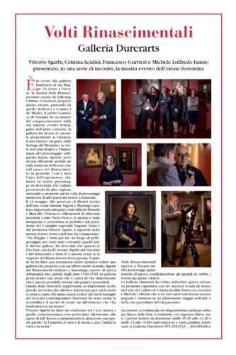 'La Republica' Giugno 2019