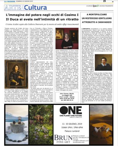 'La Nazione' 23/06/2019