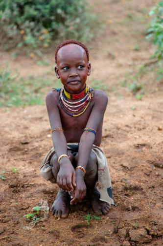 Hamar boy Ethiopia