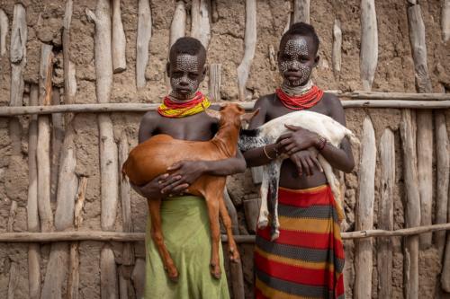 Kara boys Ethiopia