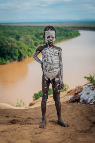 Kara child Ethiopia