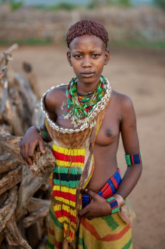 Hamar girl Ethiopia